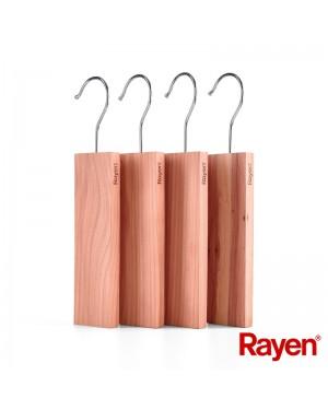 Απωθητικό σκόρου ντουλάπας κρεμαστό από κέδρο 4 τμχ. Rayen (2400.01)