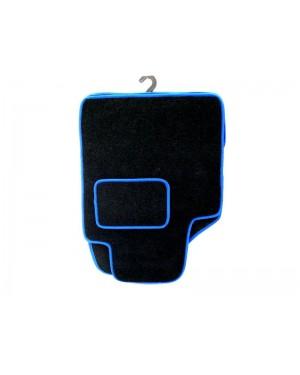 Πατάκια μπροστινά 2 τμχ μοκέτα μπλε ρέλι (541114)