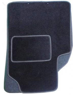 Πατάκια μπροστινά 2 τμχ μοκέτα μαύρο ρέλι (545259)