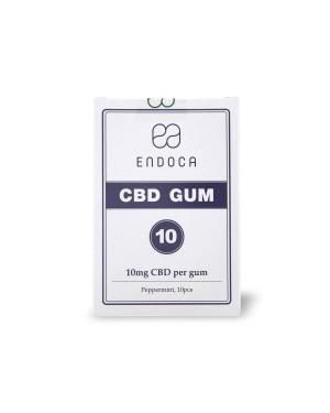 Τσίχλα CBD με γεύση μέντα 100mg 10 τσίχλες ENDOCA (6009)