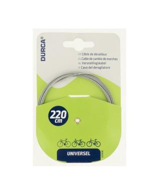Συρματόσχοινο ταχυτήτων ποδηλάτου 220cm DURCA (800329)