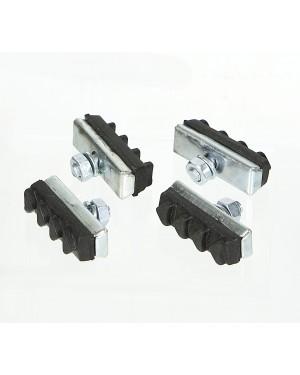 ΤΑΚΑΚΙΑ ΦΡΕΝΩΝ ΠΟΔΗΛΑΤΟΥ 40 mm (4 ΤΕΜ.) DURCA (801502)