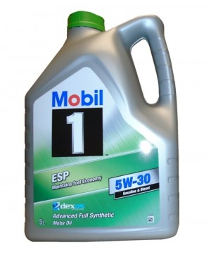 MOBIL 1 ESP 5W30 Gasoline & Diesel Advanced Full Synthetic Motor Oil 5Lt (4747)