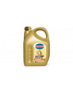 TAMOIL 100% SINT 5W-30 Πλήρως συνθετικό για βενζινοκινητήρες και πετρελαιοκινητήρες 4L (9579)