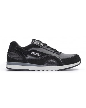 SPARCO SH-17 LEISURE SNEAKERS ΜΑΥΡΟ NO42 (00126242NR)