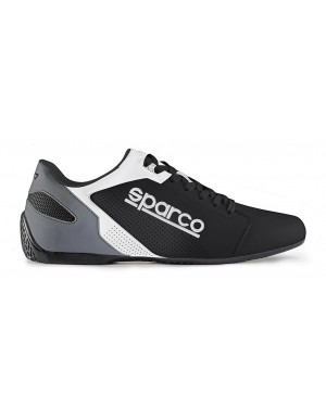 SPARCO SL-17 LEISURE SNEAKERS ΜΑΥΡΟ/ΛΕΥΚΟ (001263NRBI)