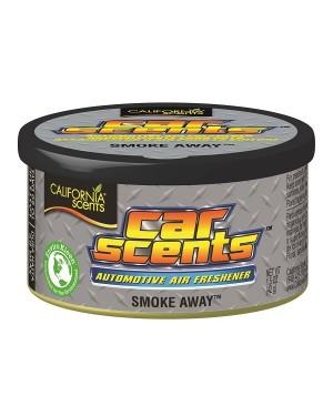 ΑΡΩΜΑΤΙΚΟ ΑΥΤΟΚΙΝΗΤΟΥ ΚΟΝΣΕΡΒΑ ΜΕ ΑΡΩΜΑ SMOKE AWAY CALIFORNIA SCENTS (095553)