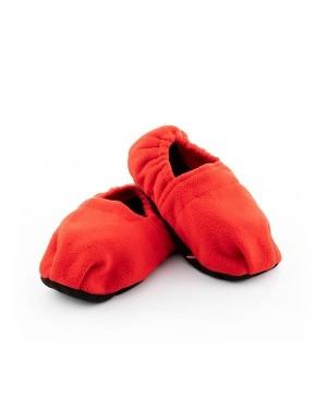 Θερμαινόμενες παντόφλες κόκκινες one size InnovaGoods (V0103186)